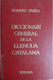 Diccionari general del la llengua catalana