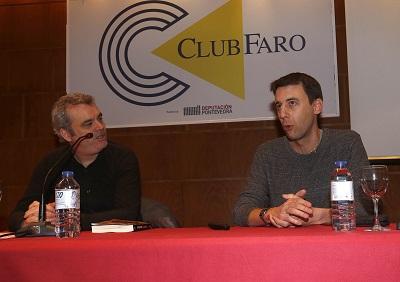 RODRIGO PALACIOS CONFERENCIA Y PRESENTACIÓN EN VIGO