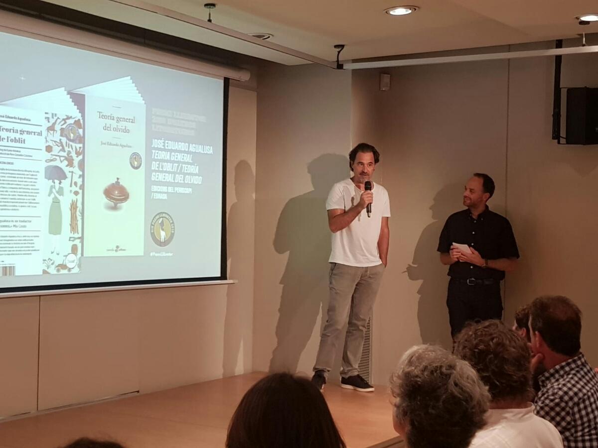 TEORÍA GENERAL DEL OLVIDO de E. Agualusa gana el XIX Premi Llibreter