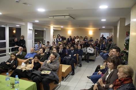 Presentación de Memorias de Bastian de Hugo Egido en Madrid