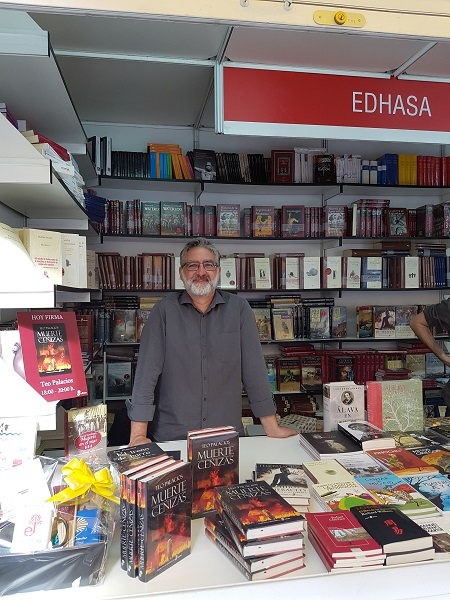 Teo Palacios - Feria Libro Madrid Edhasa