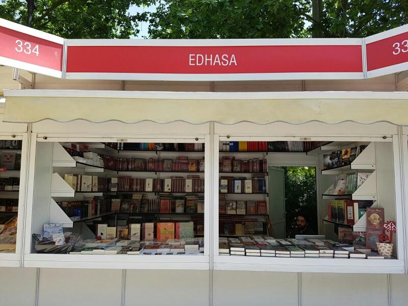 Edhasa-caseta-Feria del Libro de Madrid